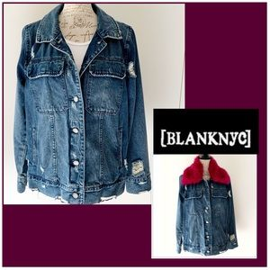 BlankNYC Jeans Distressed Coat